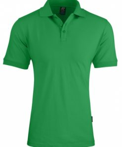 Men's Claremont Polo - M, Kelly Green