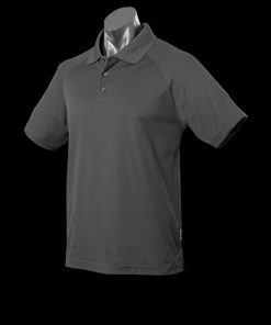 Men's Keira Polo - XL, Slate