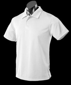Men's Botany Polo - 5XL, White