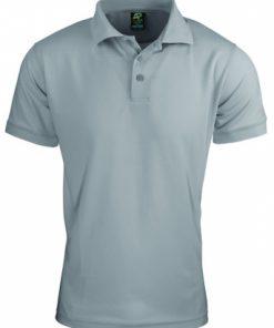 Men's Lachlan Polo - L, Silver