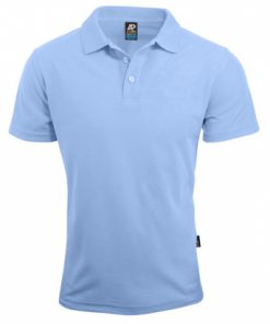 Women's Hunter Polo - 8, Sky