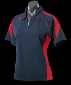 Women's Premier Polo - 8, Navy/Red