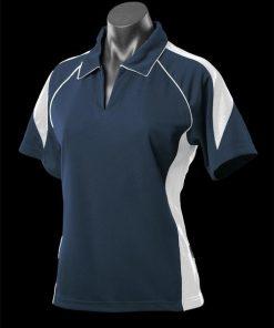 Women's Premier Polo - 8, Navy/White