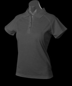 Women's Keira Polo - 12, Slate