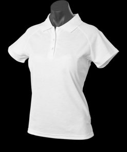 Women's Keira Polo - 6, White