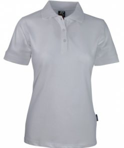 Women's Claremont Polo - 14, White