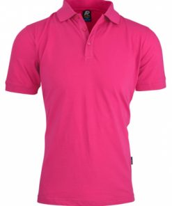Men's Claremont Polo - 5XL, Pink