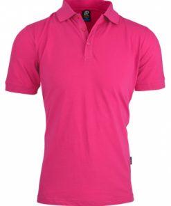 Men's Claremont Polo - L, Pink
