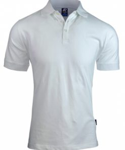 Men's Claremont Polo - 2XL, White