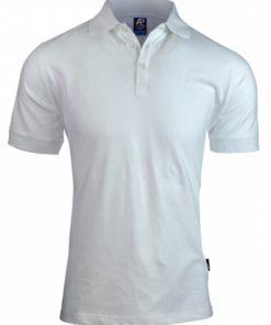 Men's Claremont Polo - L, White