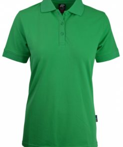Women's Claremont Polo - 6, Kelly Green