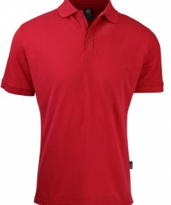 Men's Claremont Polo - M, Red
