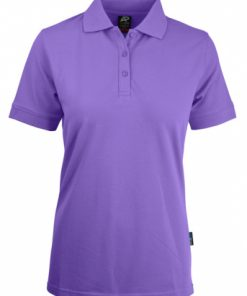 Women's Claremont Polo - 18, Purple