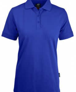 Women's Claremont Polo - 14, Royal