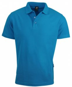 Women's Hunter Polo - 6, Cyan