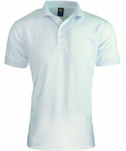 Men's Lachlan Polo - L, White