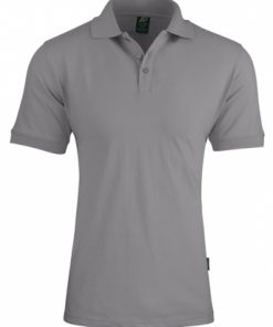 Men's Claremont Polo - XL, Silver