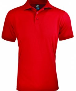 Men's Lachlan Polo - 3XL, Red