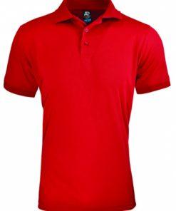 Men's Lachlan Polo - 5XL, Red