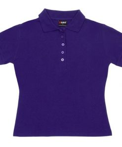 Women's Pique Polo - 10, Grape
