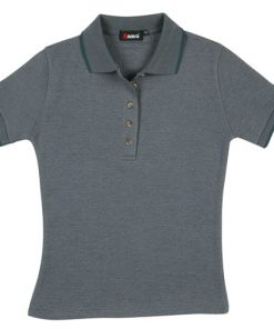 Women's Pineapple Knit Polo - 10, Teal