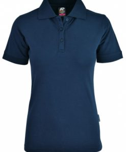 Women's Claremont Polo - 6, Navy