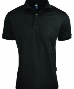 Men's Lachlan Polo - 5XL, Black