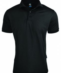 Men's Lachlan Polo - S, Black