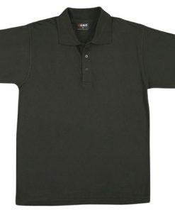 Men's Jersey Polo - 3XL, Black