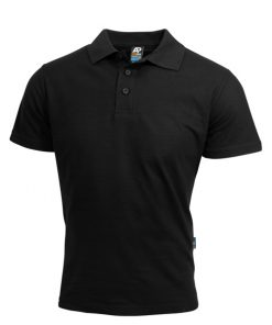 Men's Hunter Polo - L, Black