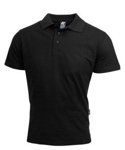 Men's Hunter Polo - 5XL, Black