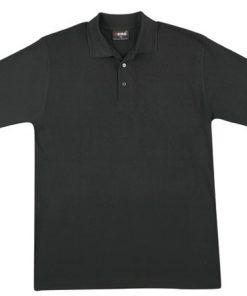 Men's Regular Polo - L, Black