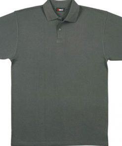 Men's Pastel Polo - XL, Charcoal