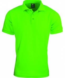Men's Lachlan Polo - S, Neon Green