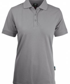 Women's Claremont Polo - 14, Silver