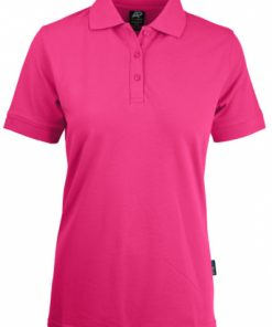 Women's Claremont Polo - 16, Pink