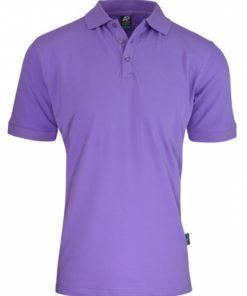 Men's Claremont Polo - L, Purple