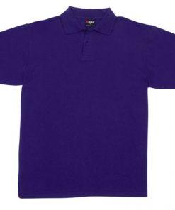 Men's Pique Polo - XL, Grape