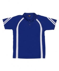 Men's Cool Best Polo - Royal/White, L