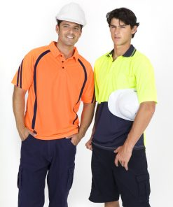 Men's Short Sleeve Safety Polo