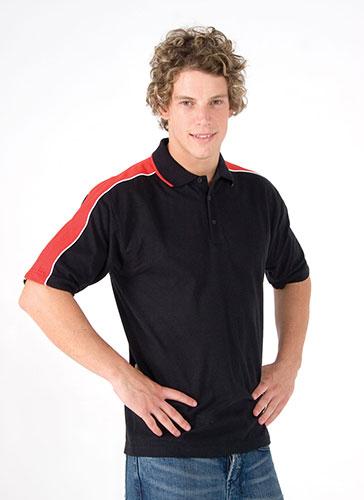 Men's Shoulder Panel Polo
