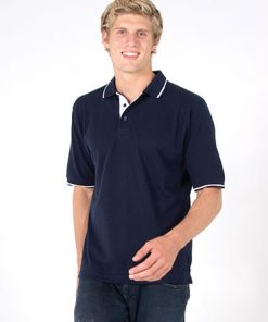 Men's Single Strip Polo