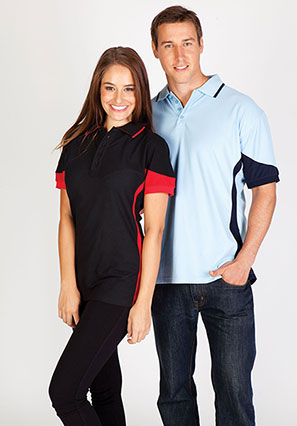 Women's super fine cotton blend polo