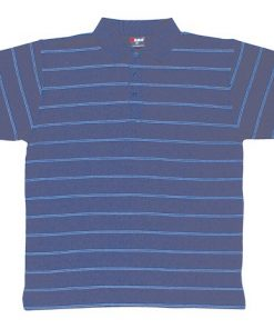 Men's Golf Polo - S, Navy/Sky
