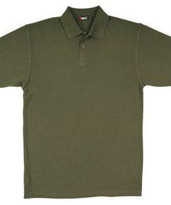 Men's Pastel Polo - XL, Olive