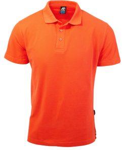 Men's Hunter Polo - M, Orange