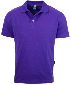 Men's Hunter Polo - L, Purple