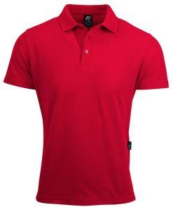 Men's Hunter Polo - L, Red