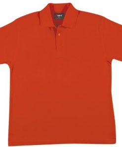 Men's Regular Polo - L, Red