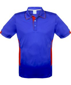 Men's Tasman Polo - XL, Royal/Red